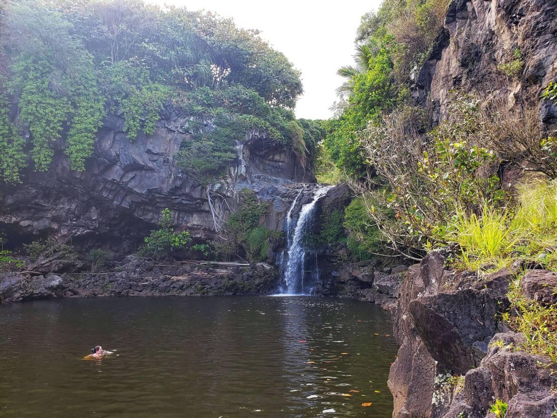 Sacred Pools at Ohe'o on the other side of Haleakalā National Park