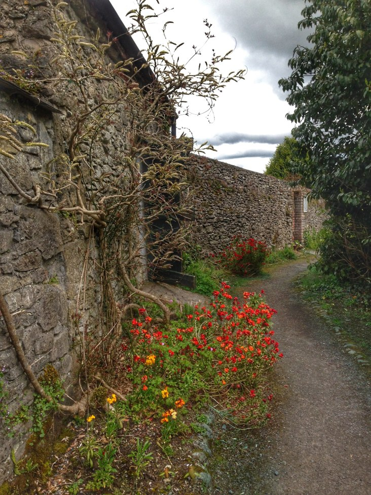 Bunratty Castle Grounds in in County Clare, Ireland
