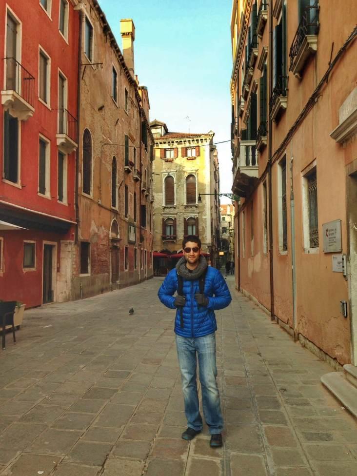 Somewhere in Venice, Italy