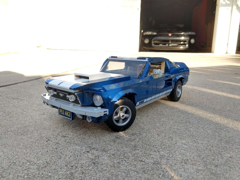 Lego Ford Mustang - Close up