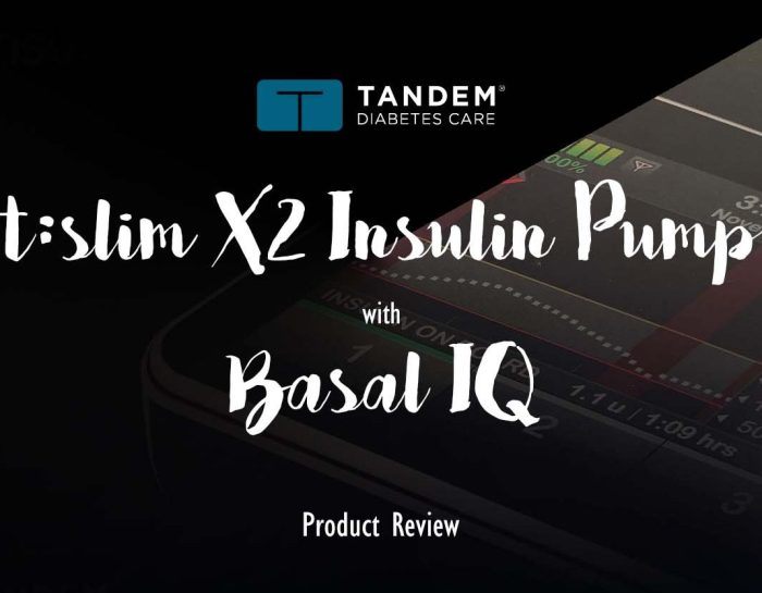 Tandem t:slim X2 Insulin Pump with Basal-IQ