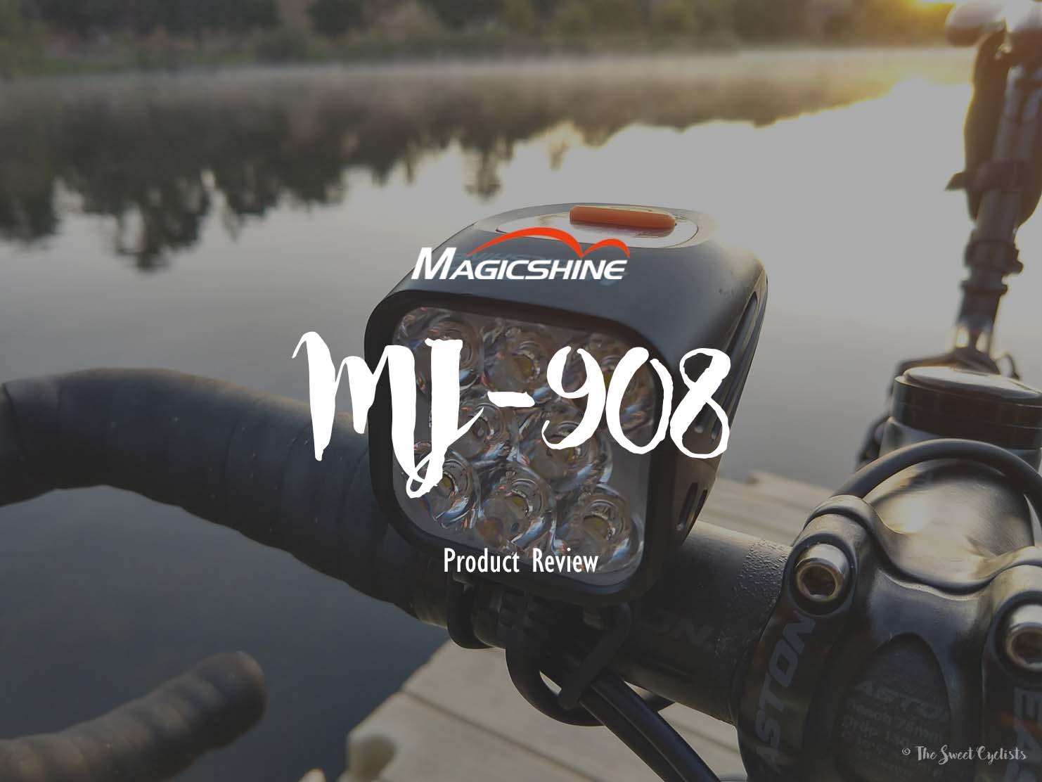 Magicshine  MJ-908, an absurdly bright bike light
