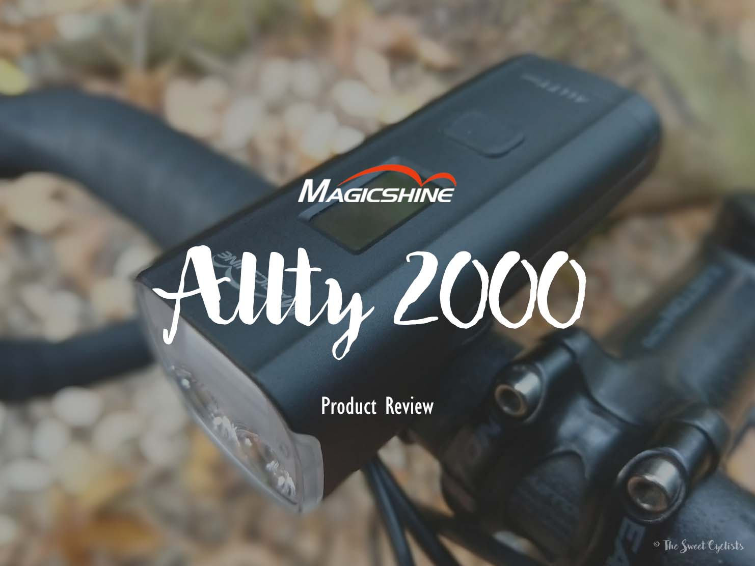 Feature packed Allty 2000 all-in-one bike light