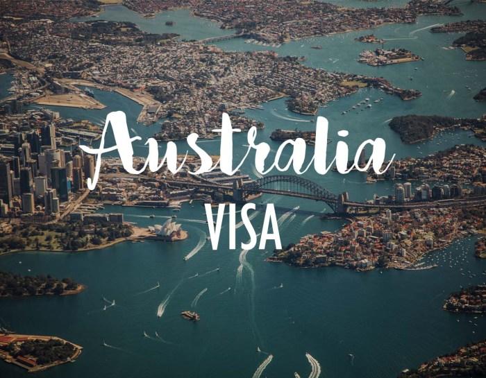 Transiting thru Australia