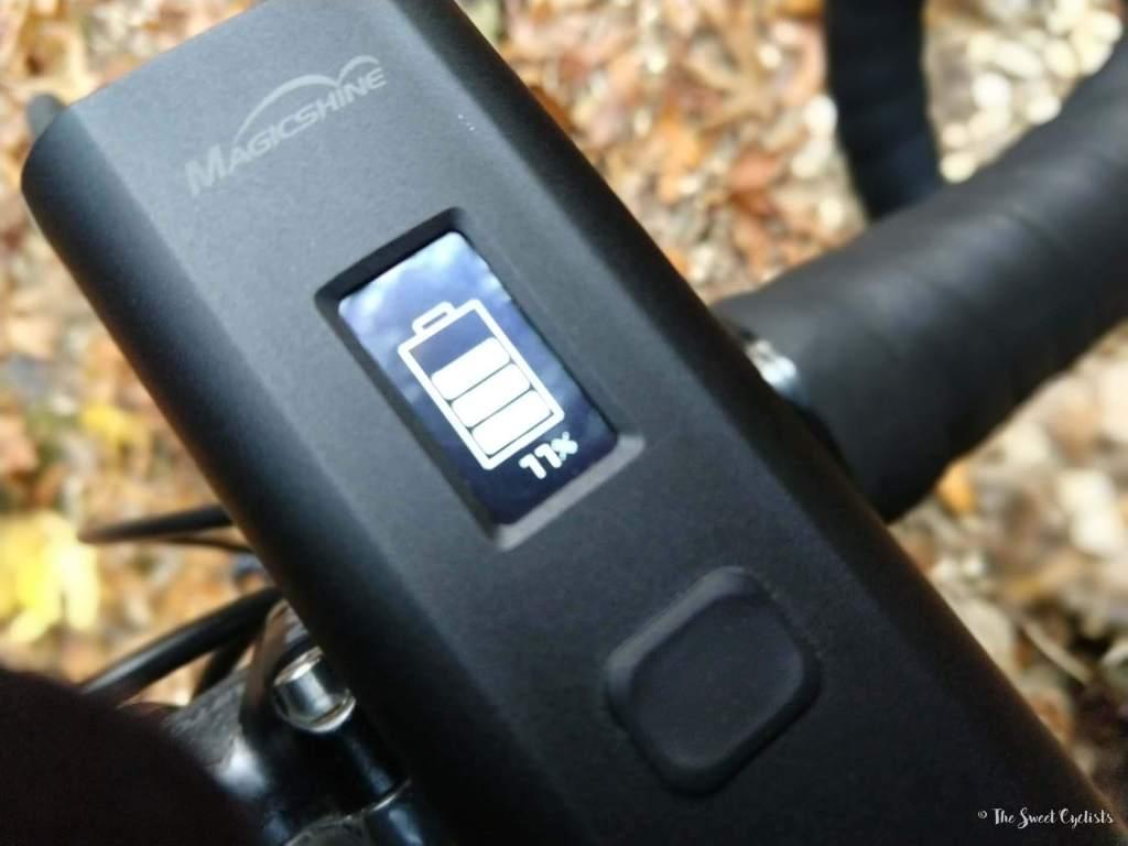 Magicshine Allty 2000 Battery Indicator