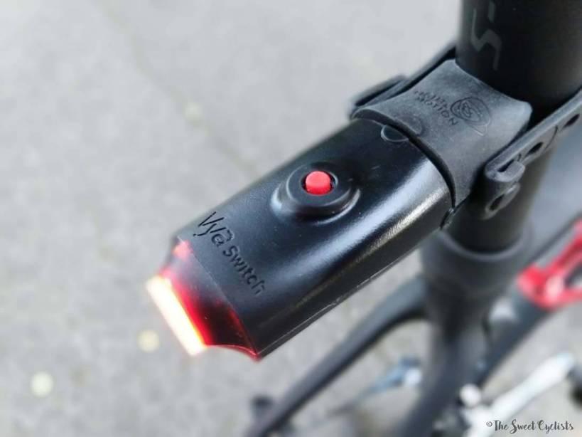 Light & Motion Vya Switch Closeup