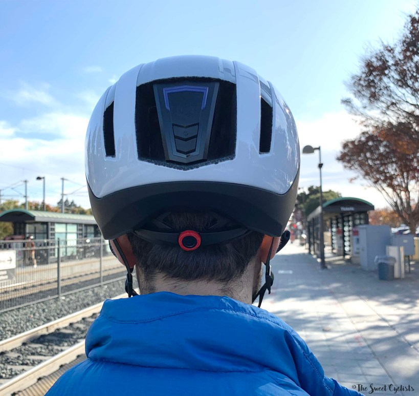 Coros SafeSound Urban Helmet - Rear view