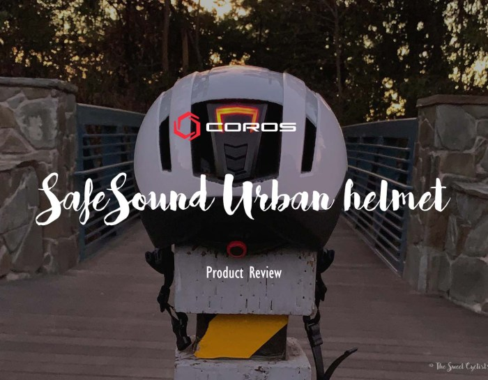 The Coros SafeSound Urban – A smart helmet for the modern rider