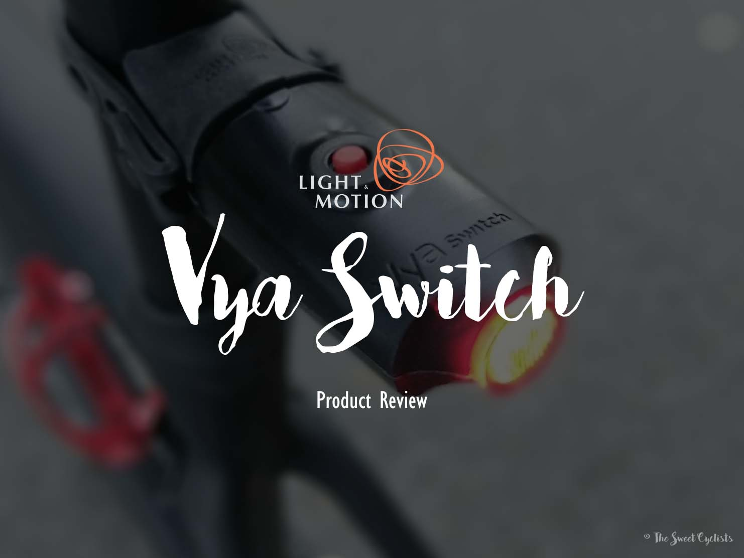 The new Vya Switch re-introduces user control on the popular Vya bike lights
