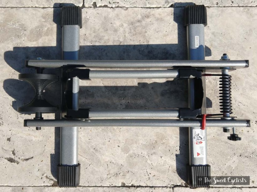 Maxxhaul 80717 Bicycle Stand Top Down View