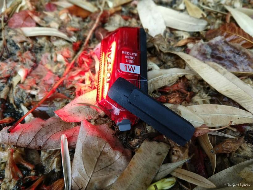 Topeak Redlite Aero - LED design