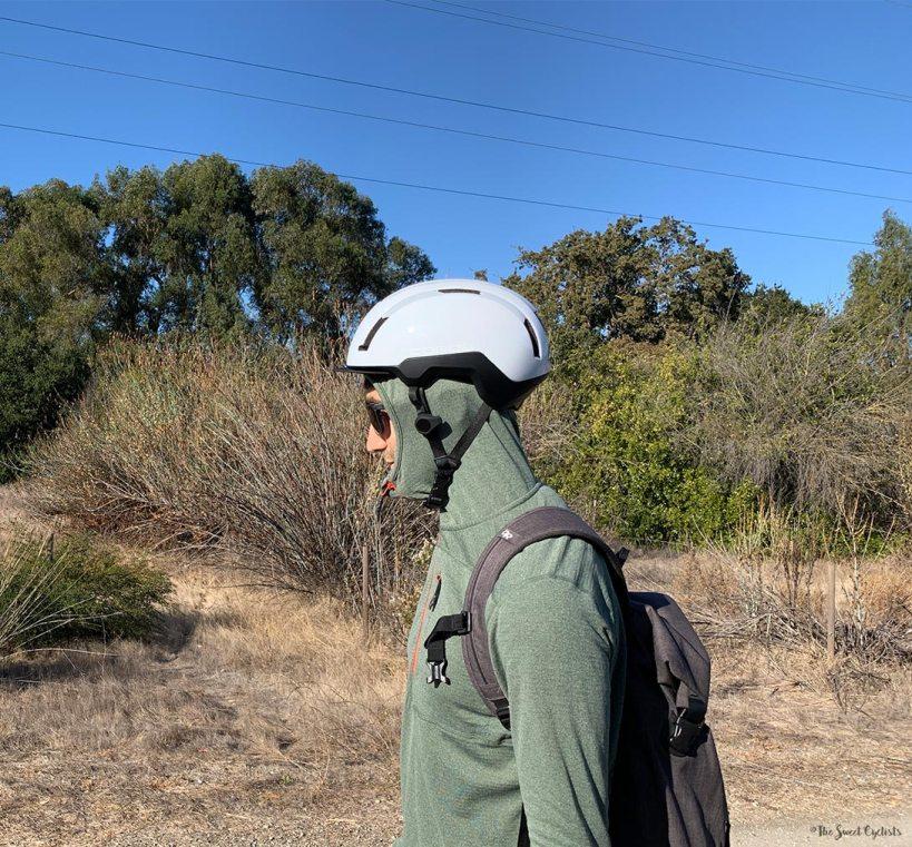 Ridge Merino Convict Merino Wool Hoodie - Helmet fit