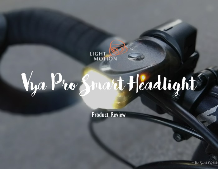 The game-changing buttonless Vya Pro Smart Headlight