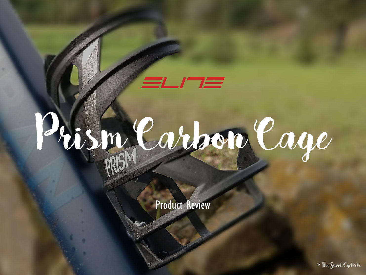 Elite Prism Carbon, a premium Side-entry bottle cage
