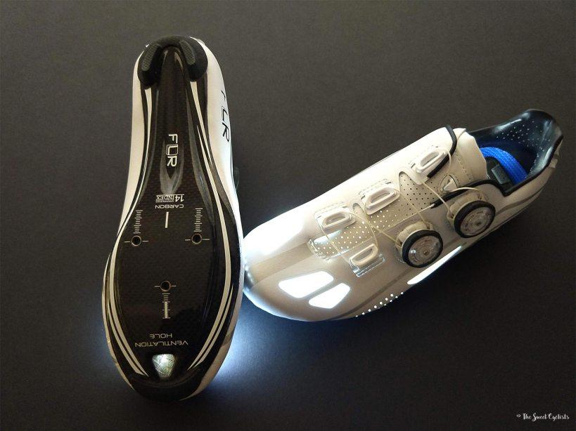 FLR F-XX II - Carbon soles and vents