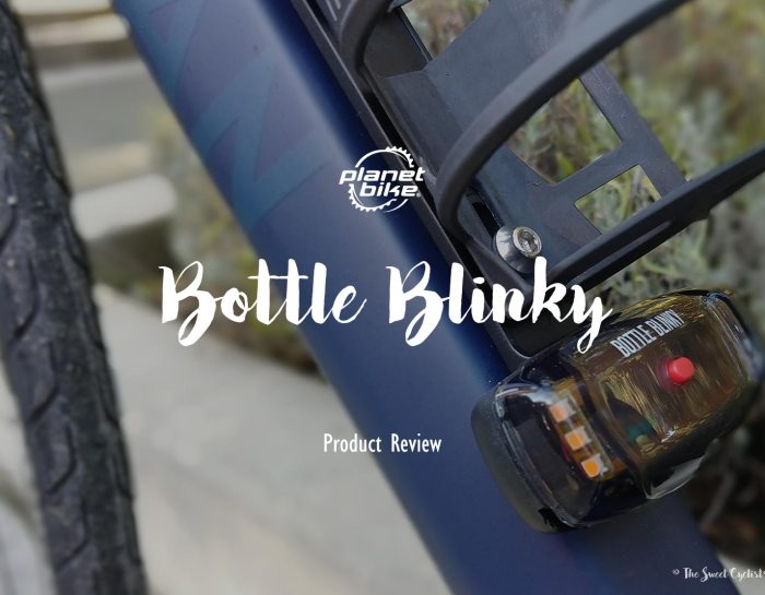 Improve your nighttime visibility with Planet Bike's Bottle Blinky