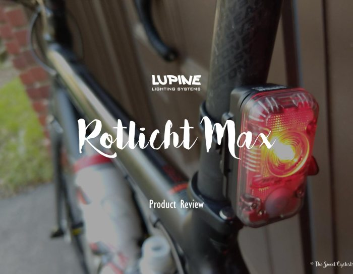 Lupine Rotlicht Max – the only taillight you'll ever need!