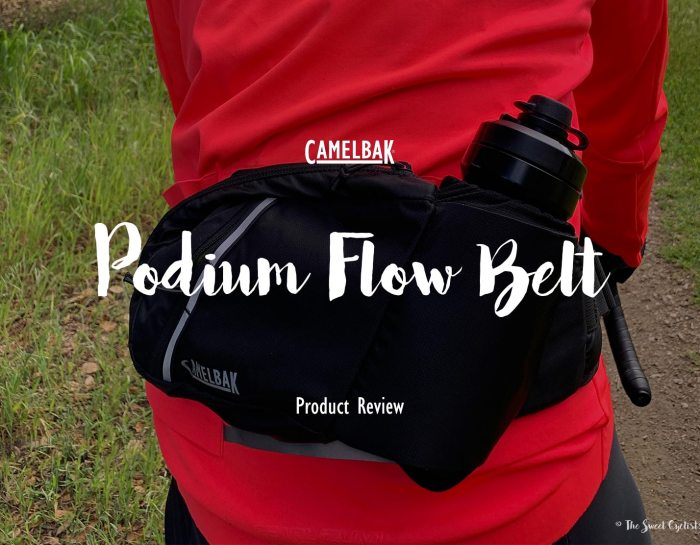 The CamelBak Podium Flow Belt, a minimal solution for cargo and hydration