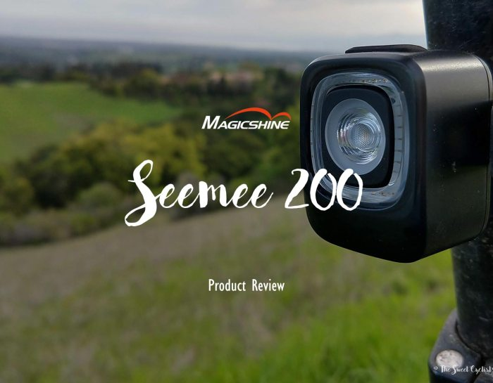 Be seen from all directions with Magicshine's newest Seemee 200