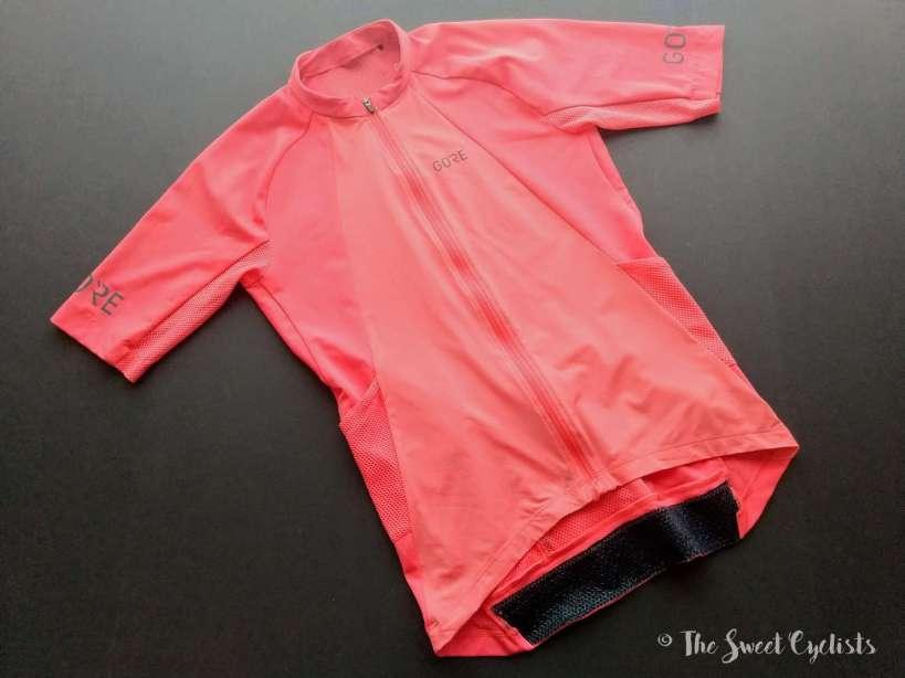 Gore C7 Women Pro Jersey - sleeves