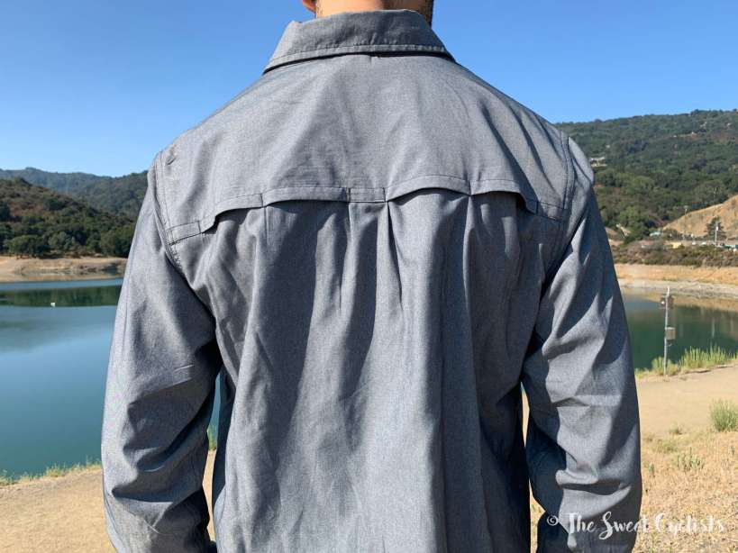 Mountain Hardwear Canyon Pro Long Sleeve Shirt - vented rear panels
