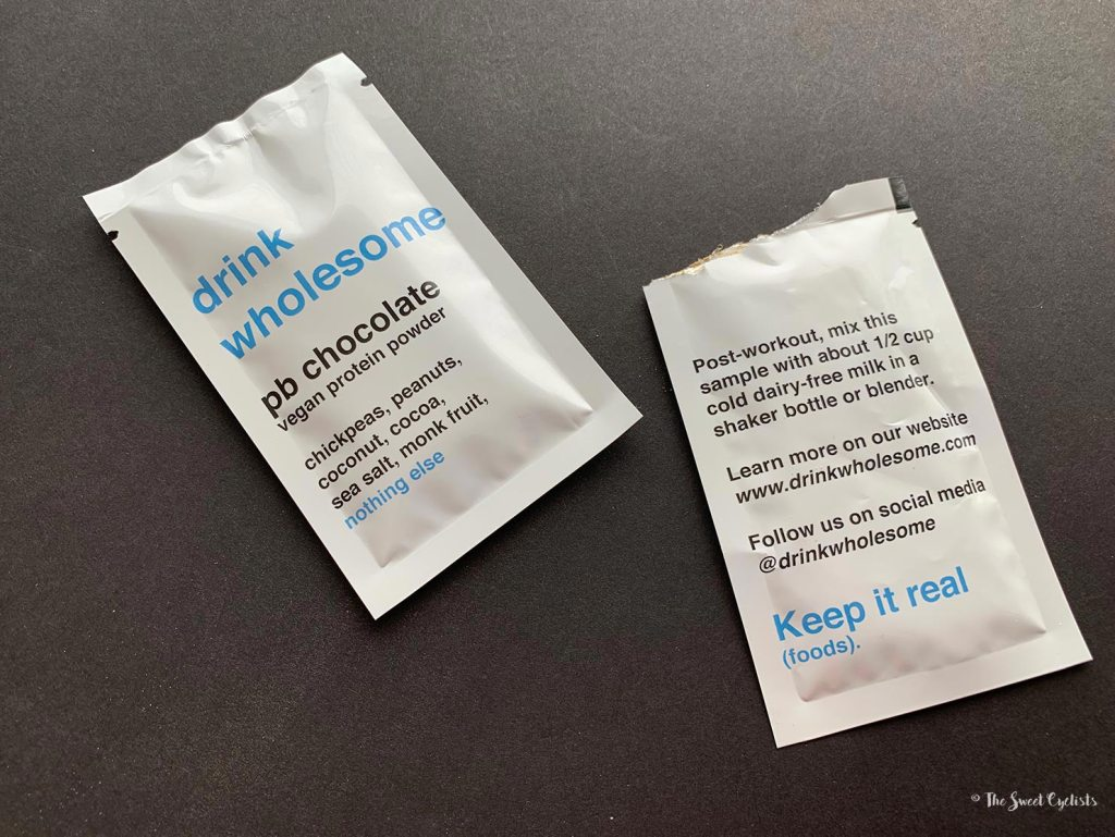 Drink Wholesome Protein powder - ingredients