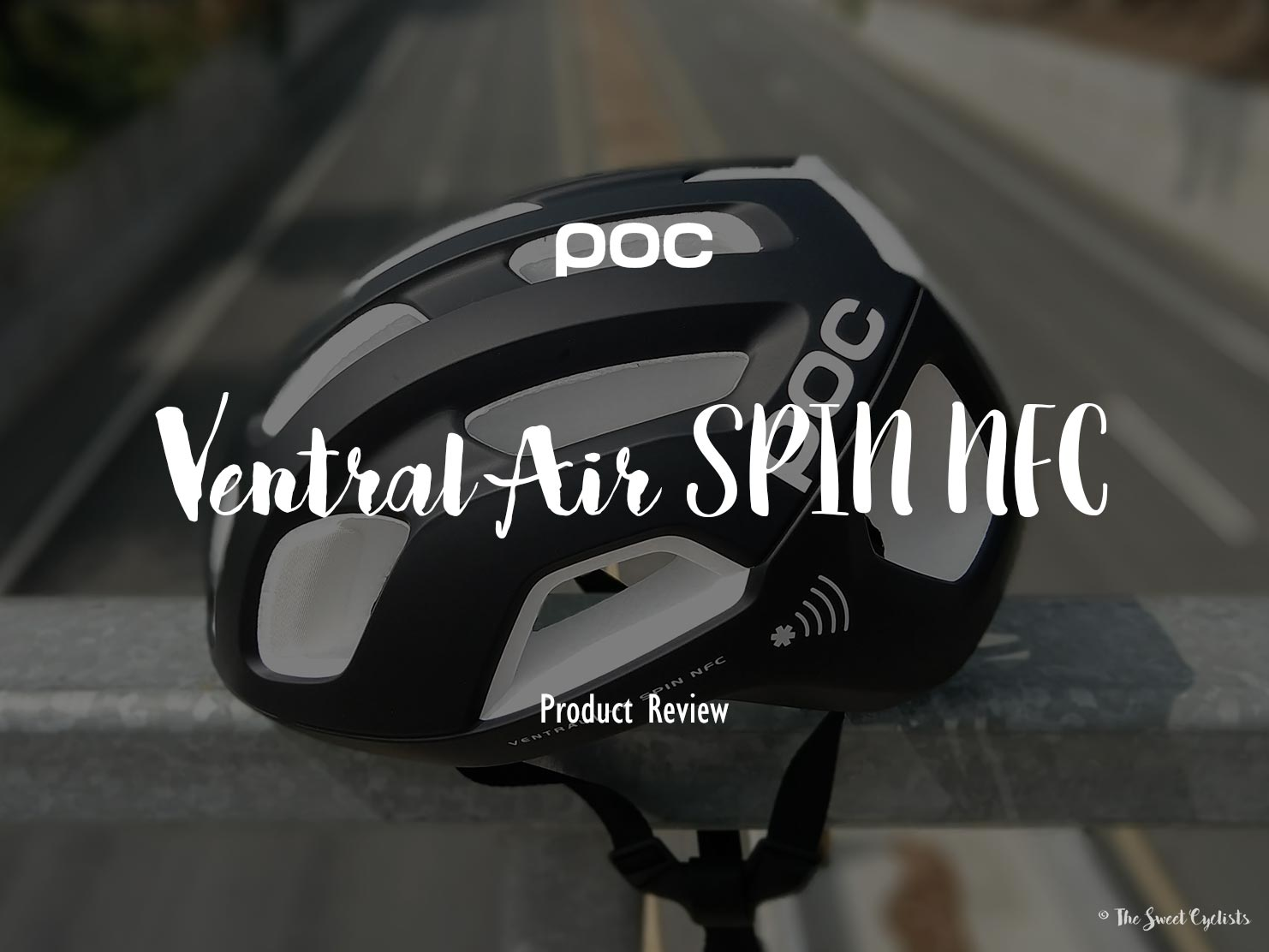 The NFC equipped bicycle helmet