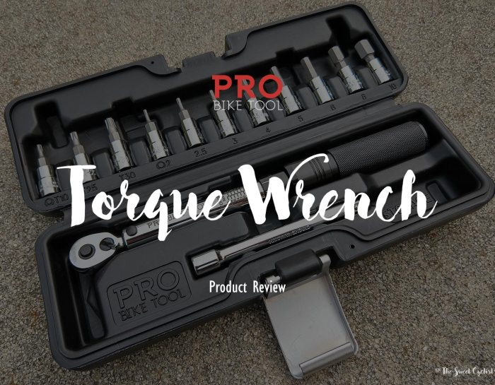 A complete torque wrench set