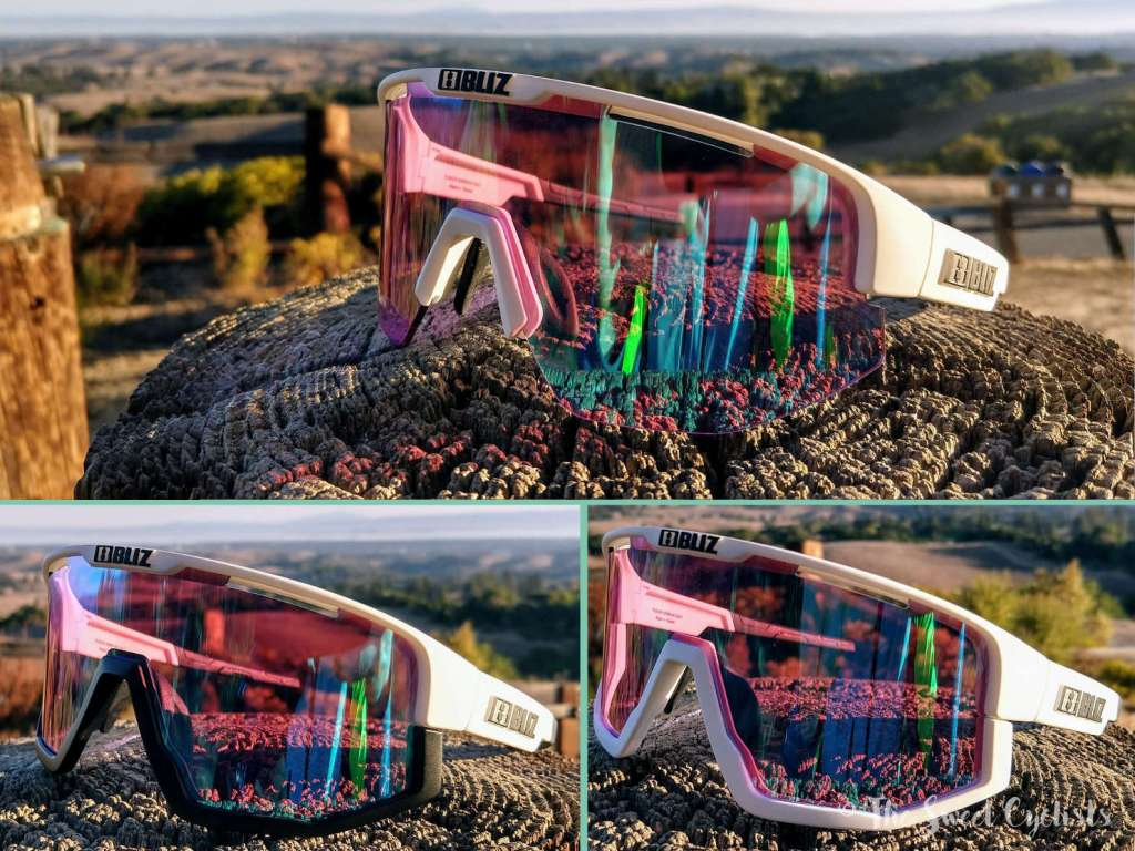 Bliz Fusion sunglasses - removable jawbone