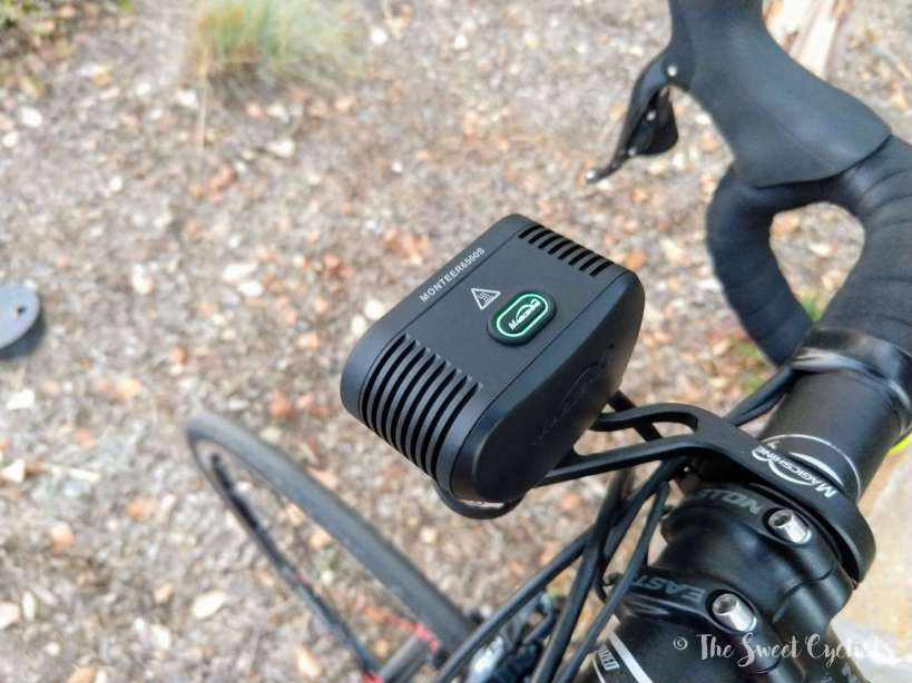 Magicshine Monteer 6500S - power button