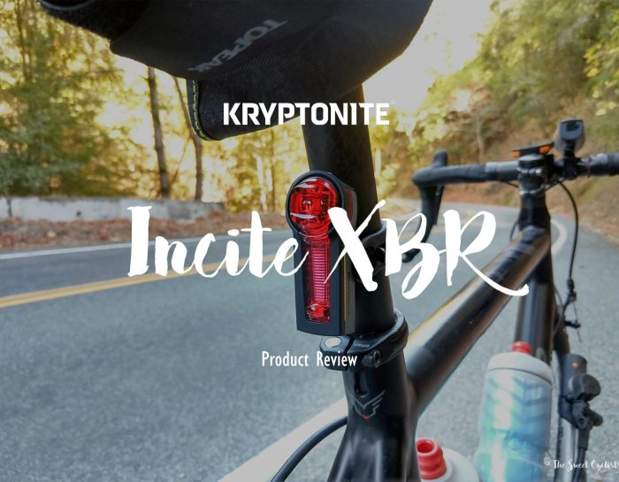 Incite XBR, a tail light that senses when you're braking