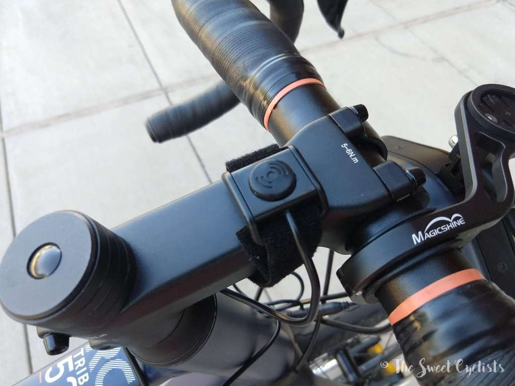 Loud Bike Horn - button