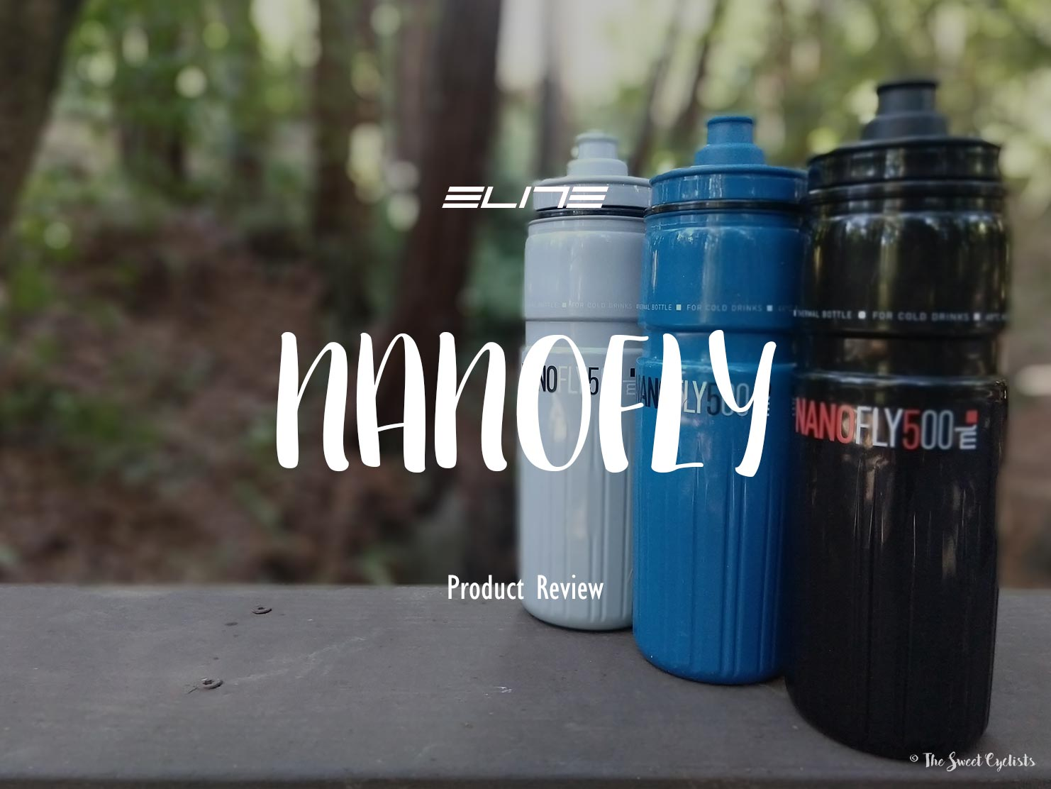 The world's lightest insulated water bottle