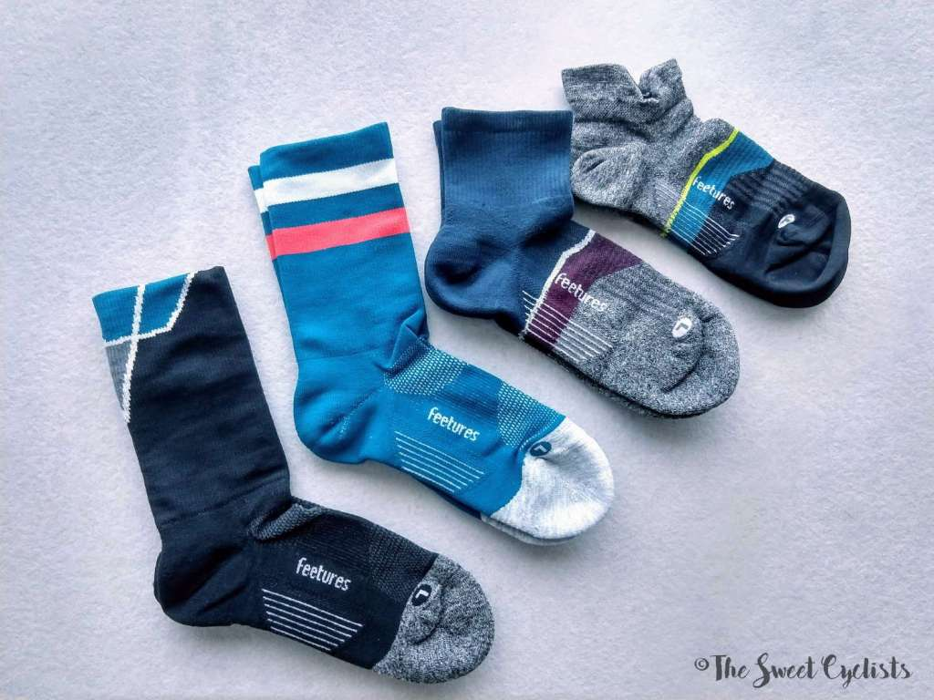 Feetures Elite Cycling Socks - variations