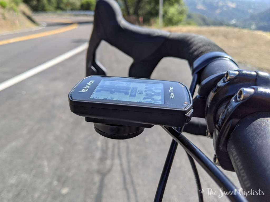 Bryton Rider 15 neo GPS Computer - Profile
