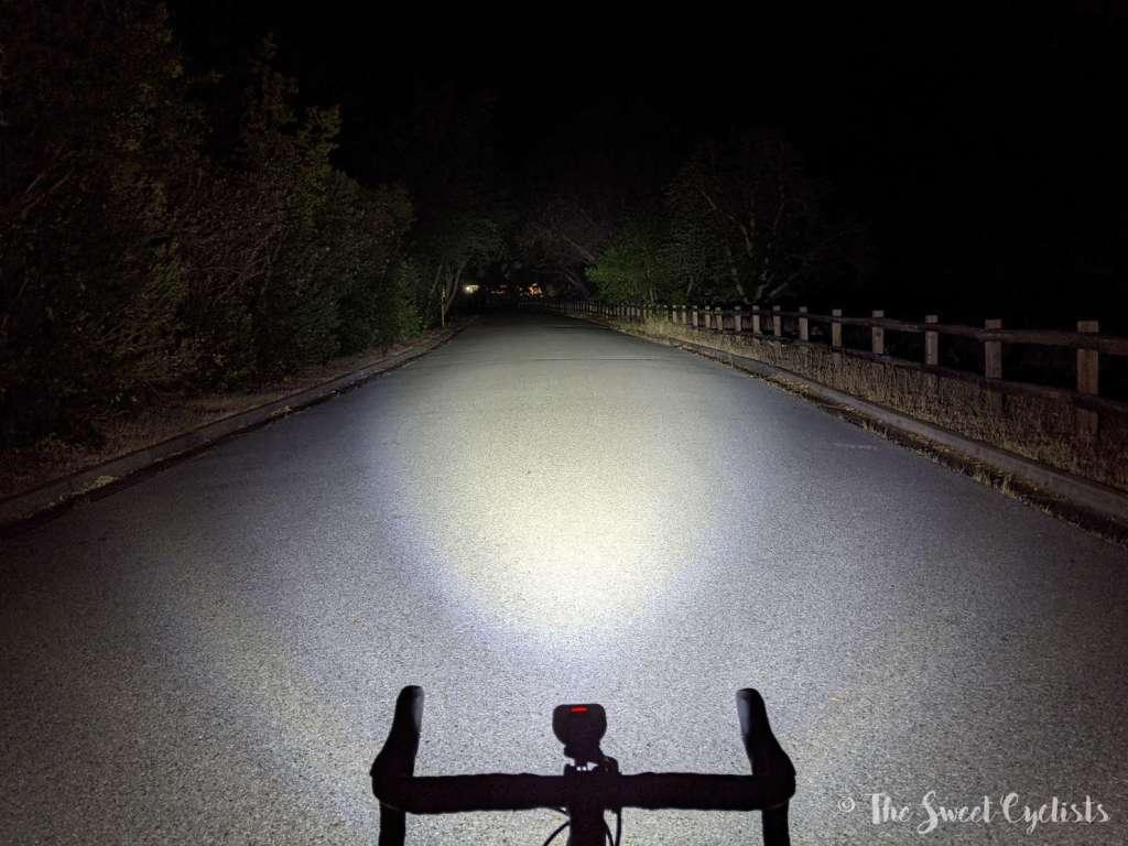 Magicshine Monteer 3500S Bike Headlight - Beam Pattern