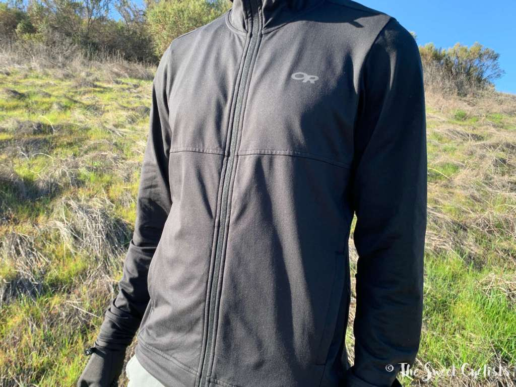 Outdoor Research Baritone Full Zip Hoodie - Front