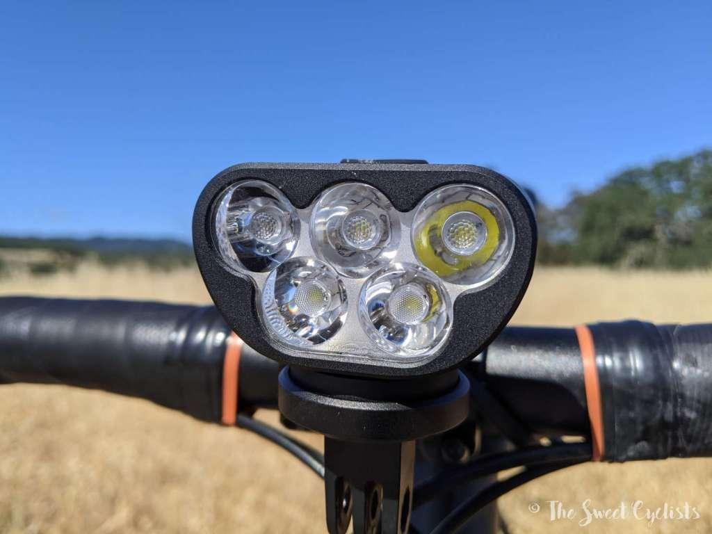 Magicshine Monteer 3500S Bike Headlight - LEDs
