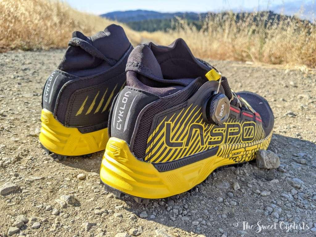 La Sportiva Cyklon Trail Running Shoes - Rear