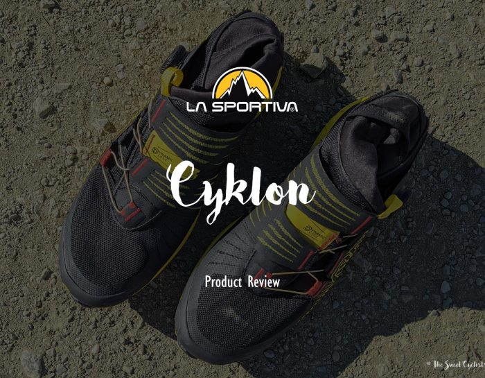 Dominate the trails with the Cyklon running shoes