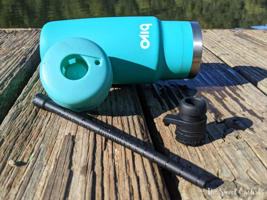 Bivo One Stainless Steel Cycling Bottle - Nozzle Parts