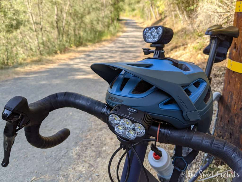 Magicshine Monteer 3500S + 8000S Combo - Helmet Mount