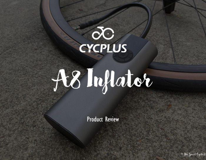 The sleek and more powerful CYCPLUS A8 inflator