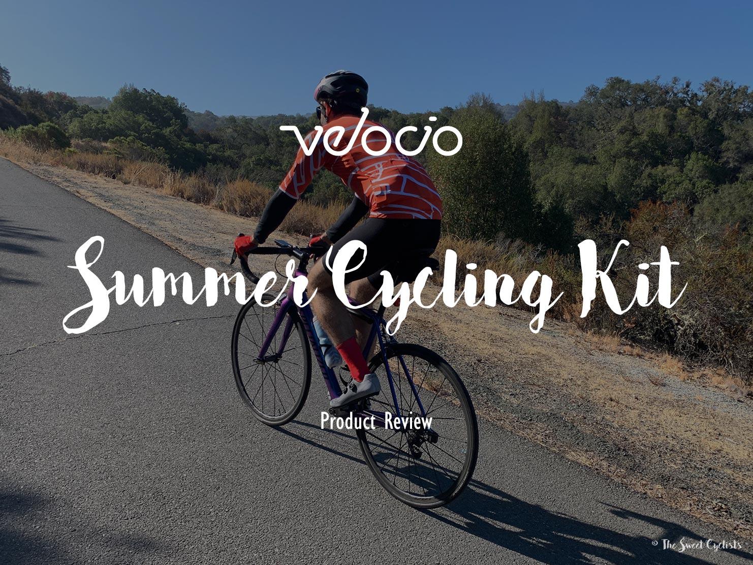 Velocio's warm weather cycling kit