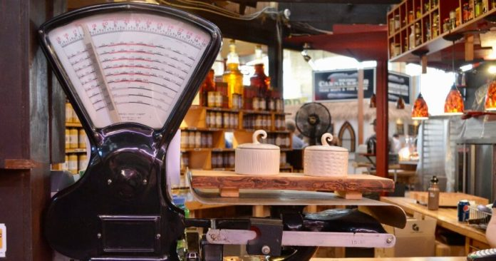 St. Lawrence Market weighing scale