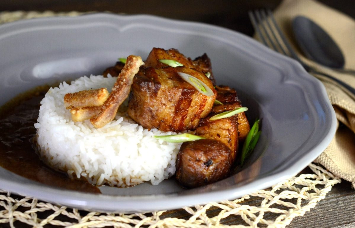 Filipino Pork Belly Adobo