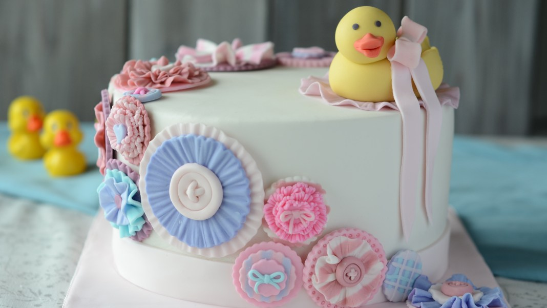 Rubber Ducky Cake Cake Post