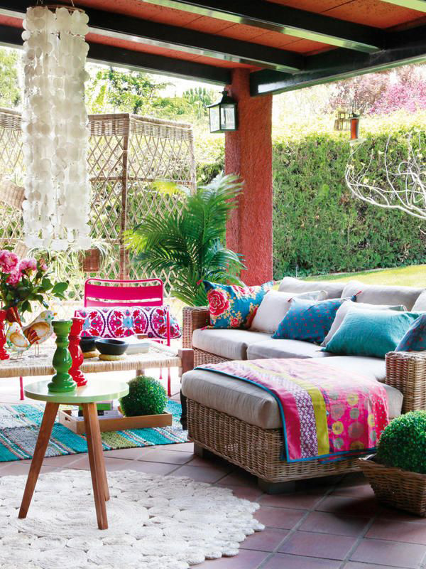 10 Outdoor Boho Spaces to Drool Over