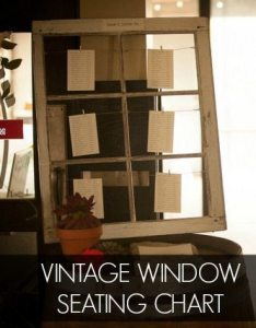 Diy vintage window seating chart the sweetest digs small also how to make  wedding with rh thesweetestdigs