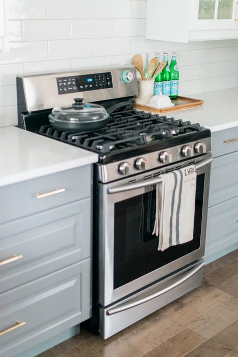 ikea kitchen countertops cabinets san diego a gray and white transformation the sweetest digs view more https laurakelly pass us sweetestdigs